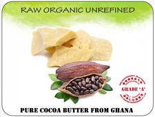 Cocoa Butter 250g Natural Raw Organic Unrefined 100% Pure skincare body cream