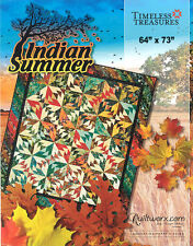 "Quilt Pattern ~ INDIAN SUMMER ~ by Judy Niemeyer 68"" x 84"""