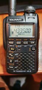 YAESU VX 3R  VHF UHF Transceivers