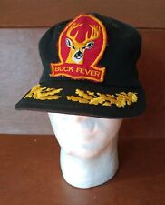 Buck Fever Patched Snap Back Hat - Hunting