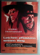 IL GRANDE SILENZIO Leichen Pflastern Seinen Weg Corbucci DVD Kinski Pistilli OOP