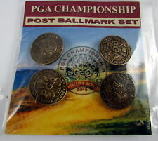 PAC Golf Ballmark w post SET OF 4  PGA & PGA CHAMPIONSHIP 2010 WHISTLING STRAITS