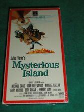 Mysterious Island Jules Vern Rare VHS1986