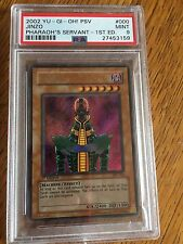Yu-Gi-Oh! 1st Edition PSA 9 Mint MT Jinzo PSV-000 Secret Rare Yugioh Graded