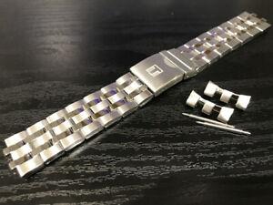 Genuine Tissot Seastar 1000 Powermatic 80 s steel band bracelet strap T120407A