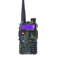 USA Stock Baofeng UV-5R Ham Walkie Talkie 128CH Dual Band Radio Camouflage UV5R