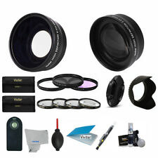 58MM Lens & Filter Kit for Canon Rebel 1000D 1100D 1200D T5 T3 T3I T5I SL1 21PCS