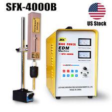 Us Stock Sfx-4000B Edm Broken Tap Remover Machine M2-M48 Taps Disintegrator