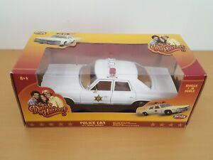 The Dukes of Hazzard Dodge Monaco Police car 1/18 Ertl shérif fais moi peur