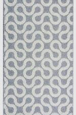 BORG Teppichläufer Küchenmatte Teppich Läufer Grau 67 cm 80 cm 100 cm