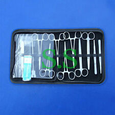 20PC MINOR SURGERY KIT SURGICAL INSTRUMENTS FORCEPS