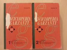 Enciclopedia Garzanti per tutti - 2 volumi Edizione  '63  (1963)