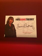 The Big Bang Theory Seasons 1/2 Autograph Card A8 Laurie Metcalf