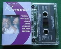 Miles of Romance Walker Brothers Roy Orbison Marvin Gaye + Cassette Tape TESTED