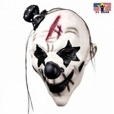 Pennywise Dancing Clown Costume Latex Rubber Horror Scary Mask Halloween Party