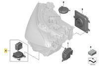 Véritable BMW X7 G07 8' Series G14 G15 avant Phare Réparation Kit Ventilateur