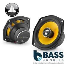 JL Audio C1-525X 13cm 130mm 450 Watts 2 Way Yellow Cone Car Door Dash Speakers