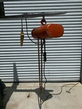 Cm Loadstar L 1 Ton Electric Chain Hoist 6 Ft Lift