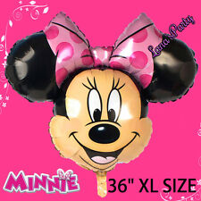 █_ NEW 36'' GIANT FOIL BALLOON * MINNIE MOUSE DISNEY BIRTHDAY PARTY BALLOONS