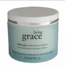 New Philosophy Living Grace 4 oz Whipped Body Cream Moisturizer