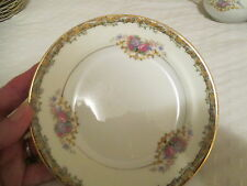 "Vintage China JAPAN ""M"" NORITAKE  Andalia Bread and Butter Plates EXC COND"