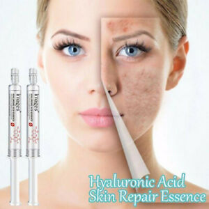 Pure 100% Hydrating Hyaluronic Acid Face Serum Brightening Anti Aging Hydration