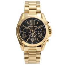 Original Michael Kors Damen Uhr Gold-farben MK5739 Chronograph Bradshaw Neu&Ovp