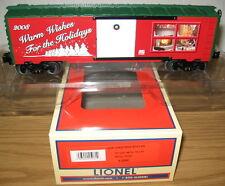 LIONEL 6-25061 CHRISTMAS HOLIDAY 2008 BOXCAR O GAUGE TOY TRAIN CAR FREIGHT NIB