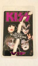 Vintage KISS Alive/Worldwide '96-'97 Tour VIP Laminates Pass