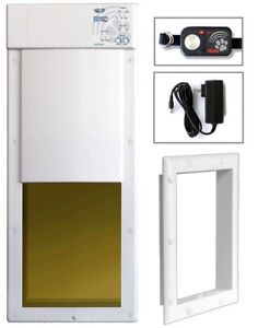 Power Pet Large Electronic Fully Auto Dog and Cat Electric Door