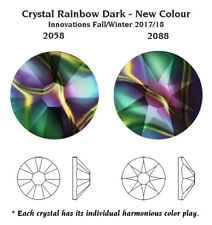 Genuine SWAROVSKI 2058 & 2088 Flat Back Crystals No Hotfix * Many Colors & Sizes