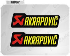 2 AKRAPOVIC  Adesivo resistente al calore 15 cm