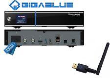 Gigablue UE UHD 4K 2160p 1xDVB-S2 FBC Twin Tuner E2 Linux Receiver + Wlan Stick