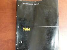 YALE Maintenance Manual OS/SS 030 BB