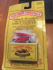 1995 Matchbox Series #9 A Moko Lesney Fire Truck in Original Box and wrapping