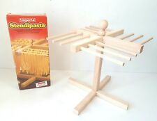 Vintage Stendipasta Imperia Pasta Drying Rack Wood Italy