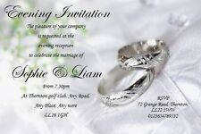 30 Personalised Save The Date or Save The Evening Ref SDPRP Posted 1st Class