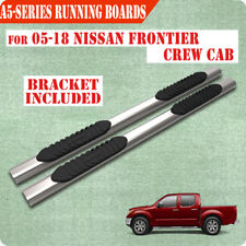 "For 2005-2020 Nissan Frontier Crew Cab 5"" Nerf Bar Side Step Running Board S/S A"