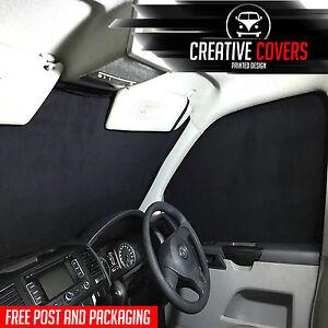 VW T5 T6 Transporter/Caravelle Interior Cab Blind Kit, Curtains ,Full Black Out