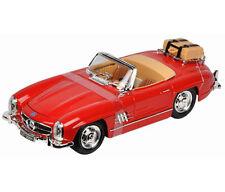 Maisto Mercedes Benz 300 SL Touring 1957 1:18 Diecast Model Car Red