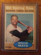 1962 Topps Willie Mays #395 Baseball Card