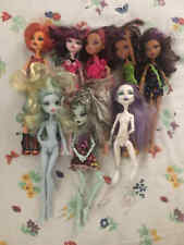 Mixed Lot of Monster High Barbie Dolls