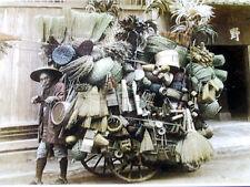 ja Japanese Old Photo History Book - Laborer Worker Carpenter Singer Basket