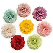 Marigold Flowers Artificial Fake Heads Bulk Silk Crafts Handmake Wedding DIY Box