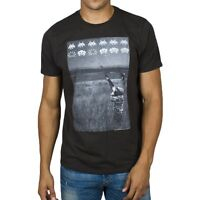 Space Invaders Duck Shoot Soft Adult Mens T-Shirt