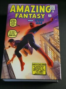 THE AMAZING SPIDERMAN MARVEL OMNIBUS VOLUME 1 by Stan Lee & Steve Ditko