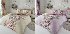 Luxury Wisteria Duvet Set Floral Duvet Cover Set 3 PCs Quilt Cover Set Bedding