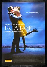 LA LA LAND * CineMasterpieces ORIGINAL AUSTRALIA MOVIE POSTER 2016 RYAN GOSLING