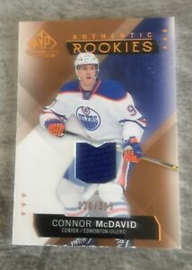 2015-16 SP Game Used Connor McDavid #197 Copper Jersey 20/399  RC ROOKIE MINT
