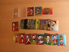 1996 KROME PRODUCTIONS – BETTY BOOP THE PIN UPS COMPLETE 50 CARD SET & chase car